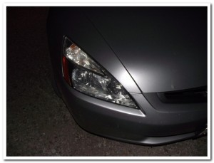 Artist's interpretation of what a headlight might look like
