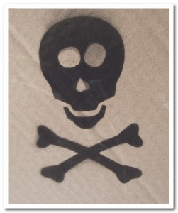 Stencil results: happy skull