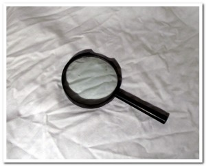Mysterious Magnifying Glass
