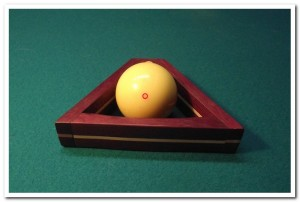 The World's only Cue Ball Rack!!