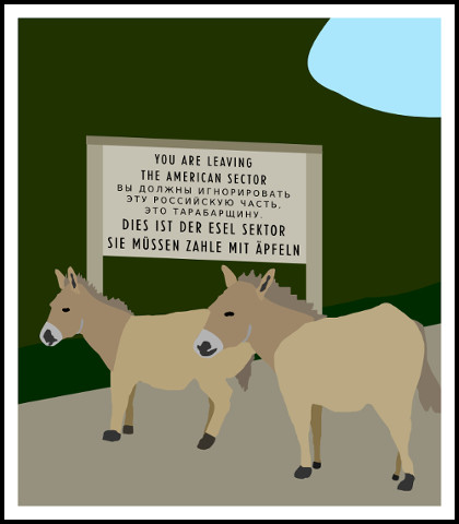 donkey_road_block_sign001e